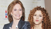 Broadway Barks founders Mary Tyler Moore and Bernadette Peters celebrate the 14th year of helping animals find homes.