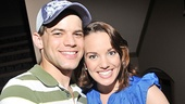 Newsies stars Jeremy Jordan and Kara Lindsay couldnt be happier to participate in Broadway Barks