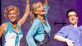 Felicia Finley as Tanya, Judy McLane as Donna Sheridan and Lauren Cohn as Rosie in Mamma Mia.
