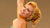 Felicia Finley as Tanya in Mamma Mia.