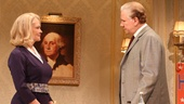Cybill Shepherd as Alice Russell and John Larroquette as Secretary William Russell  in The Best Man.