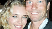 Rebecca Romijn is in good company with her husband, Broadway vet Jerry OConnell, after her sexy stage debut.