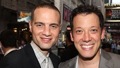 Bring It On Opening Night  Jordan Roth  John Tartaglia