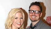 Bring It On Opening Night  Megan Hilty  Brian Gallagher 