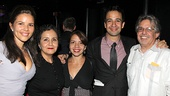 Bring It On Opening Night  Lin-Manuel Miranda  family 