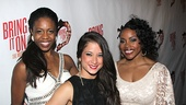 Bring It On Opening Night  Shonica Gooden  Lauren Whitt  Melody Mills 