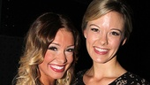 Onstage frenemies Elle McLemore and Kate Rockwell have nothing but love for each other on opening night.