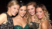 Girl power! Bring It On's Kate Rockwell, Janet Krupin,  Taylor Louderman and Elle McLemore are one fab foursome.