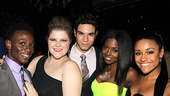 Bring It On Opening Night – Gregory Haney – Ryann Redmond – Jason Gotay – Adrienne Warren – Ariana DeBose