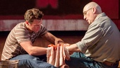 Jonathan Groff as Ken and Alfred Molina as Mark Rothko in Red.