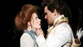 Amy Adams as the Baker's Wife and Ivan Hernandez as Cinderella's Prince in Into the Woods.