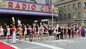 Radio City  Christmas in August- Rockettes- Santa