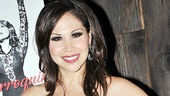 Beautiful Bianca Marroquin is celebrating 10 successful years as Roxie Hart in Chicago.
