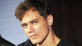 After winning raves off-Broadway in Craig Wright's Mistakes Were Made, Michael Shannon can't wait to make his Broadway debut in the playwright's Grace.
