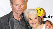 Sam Shepard comes in close with his star, Lois Smith, who earned a Tony nomination for her performance in his Pulitzer Prize-winning play Buried Child.