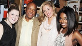 Leading lady trio Ryann Redmond, Taylor Louderman and Adrienne Warren meet Gordy  the man, the myth, the mogul!