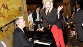 Kinky boots indeed! Like The Carlyle's legendary pianist David Budway, we too are in awe of Cyndi Lauper right now. Werk it, Ms. Lauper.