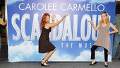 Scandalous duo Carolee Carmello and Kathie Lee Gifford take a hands-on approach to Broadway.