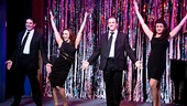 The audience goes wild for the talented stars of Forbidden Broadway: Alive & Kicking: Marcus Stevens, Jenny Lee Stern, Natalie Charle Ellis and Scott Richard Foster.