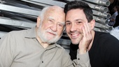 Who wouldnt want a handful of Steve Kazee? Ed Asner sure does!