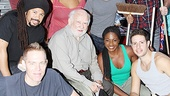Grace's Ed Asner and the cast of Stomp are so popular, it's Standing Broom Only.