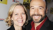 Rebecca Luker and her husband, Danny Burstein (who will star in Golden Boy this winter), have a Broadway date night.