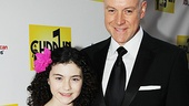Annie&#39;s Lilla Crawford has a Broadway date, tooher Daddy Warbucks, Anthony Warlow! 