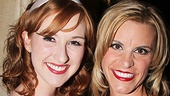 Erin Mackey and Jenn Colella play the ladies in Chaplins life: Oona, his beloved wife, and Hedda Hopper, the gossip columnist who tries to destroy his career.