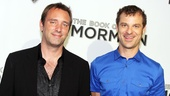 South Park funnymen Trey Parker and Matt Stone step out for the L.A. premiere.