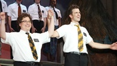 Hello! The Book of Mormon tour stars Jared Gertner and Gavin Creel take their opening night bows in Los Angeles.