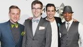 ‘Book of Mormon’ LA Opening—Michael Buchanan—Kevin Michael Murphy—Bud Weber— Bobby Daye