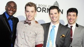 Book of Mormon LA OpeningDouglas LyonsDaniel LeClaireJacob Ben WidmarJR Bruno