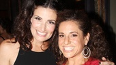 Elphaba meets Tracy! Tony winners Idina Menzel and Marissa Jaret Winokur hit the theater together.