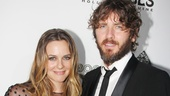‘Book of Mormon’ LA Opening—Alicia Silverstone—Christopher Jarecki
