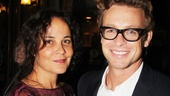 Book of Mormon LA OpeningRebecca RiggSimon Baker