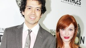 ‘Book of Mormon’ LA Opening—Geoffrey Arend—Christina Hendricks