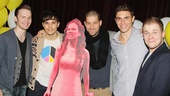 Carrie- Listening Party- Corey Boardman-Andy Mientus- Ben Thompson- Derek Klena- F. Michael Haynie