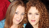 Do you think they discussed Into the Woods!? Tony winners Donna Murphy and Bernadette Peters meet their legions of fans.