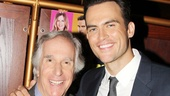 Henry Winkler is happy to return to Broadway opposite Cheyenne Jackson.