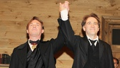 Richard Thomas and Boyd Gaines play the dueling Stockmann brothers in the political drama.