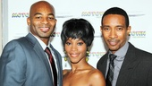 Get ready for Motown the Musical! Stars Brandon Victor Dixon, Valisia LeKae and director Charles Randolph-Wright kick off a glitzy event.