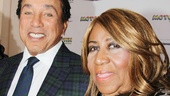 Look at these legends! Smokey Robinson and Aretha Franklin need no introduction!