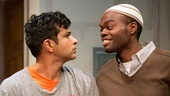 Utkarsh Ambudkar and William Jackson Harper in Modern Terrorism.