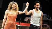 Marry Me a Little stars Lauren Molina and Jason Tam take their opening night bow.