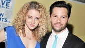 Boy, they clean up nice! Lauren Molina and Jason Tam get spiffed up for their opening night celebration.