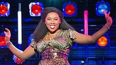 Ta'Rea Campbell as Deloris in the national tour of Sister Act.