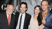 Grace stars Ed Asner, Paul Rudd, Kate Arrington and Michael Shannon beam after the performance.