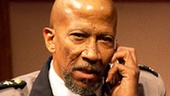 Reg E. Cathey as Pontius Pilate, Annette O'Toole as Mary and Danny Rivera as Pedro in Heresy.