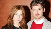 Clemence Poesy and Kyle Soller play young lovers onstage, but look just as great together out of costume!