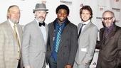 Cyrano de Bergerac Opening Night  Bill Buell  Tim McGreever  Okieriete Onaodowan  Jack Cutmore-Scott  Max Baker